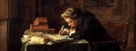 Meissonier: Young Man Writing